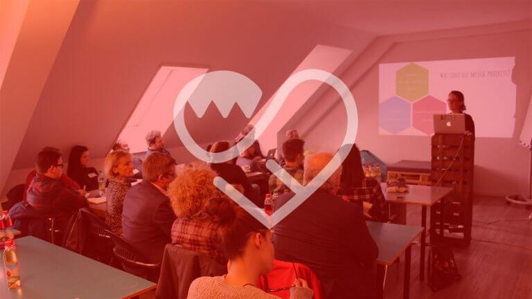 Projektpräsentation von FrankenSein in München bei der BLM