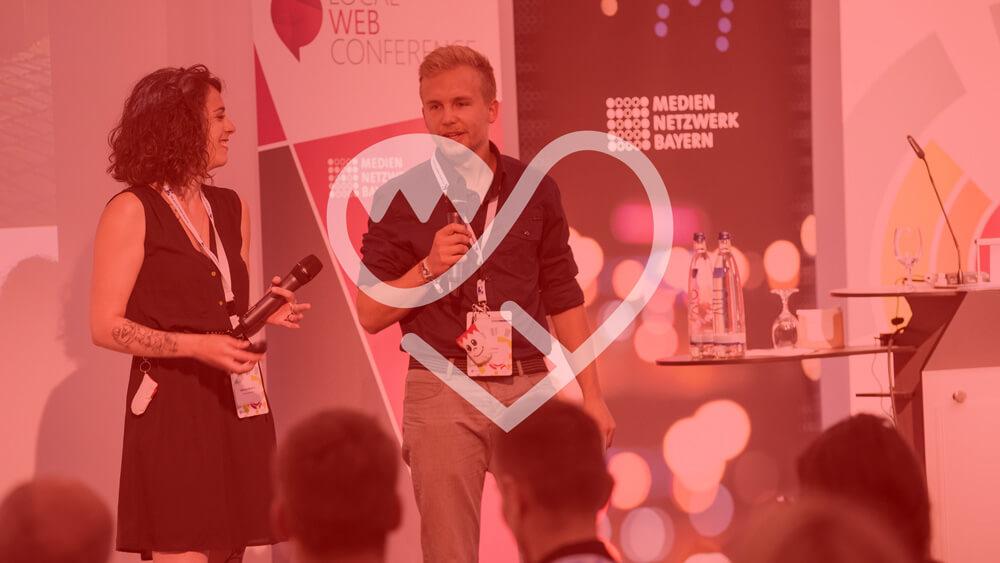 Präsentation von FrankenSein.de auf der Local Web Conference