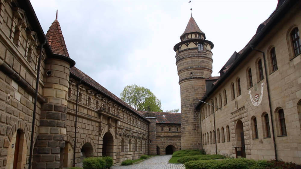 Hinter den Mauern der Festung Lichtenau