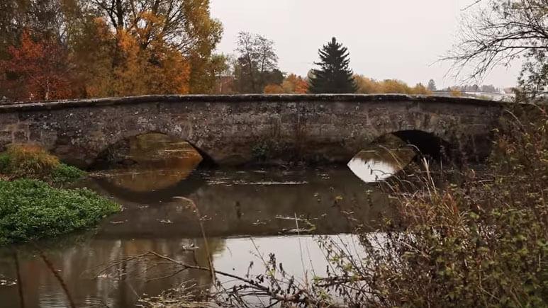 Rezat, Brücke