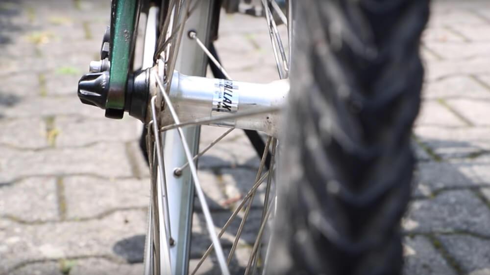 Ein besonderer Radweg in Westmittelfranken