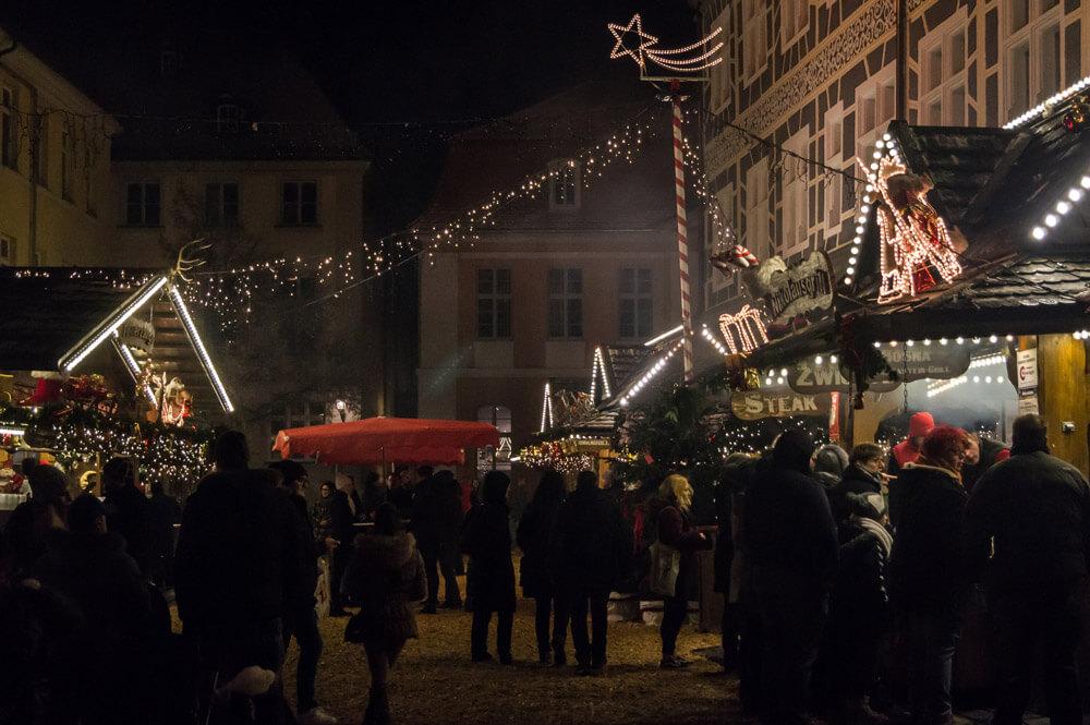 Weihnachtsmarkt Ansbach Stimmung