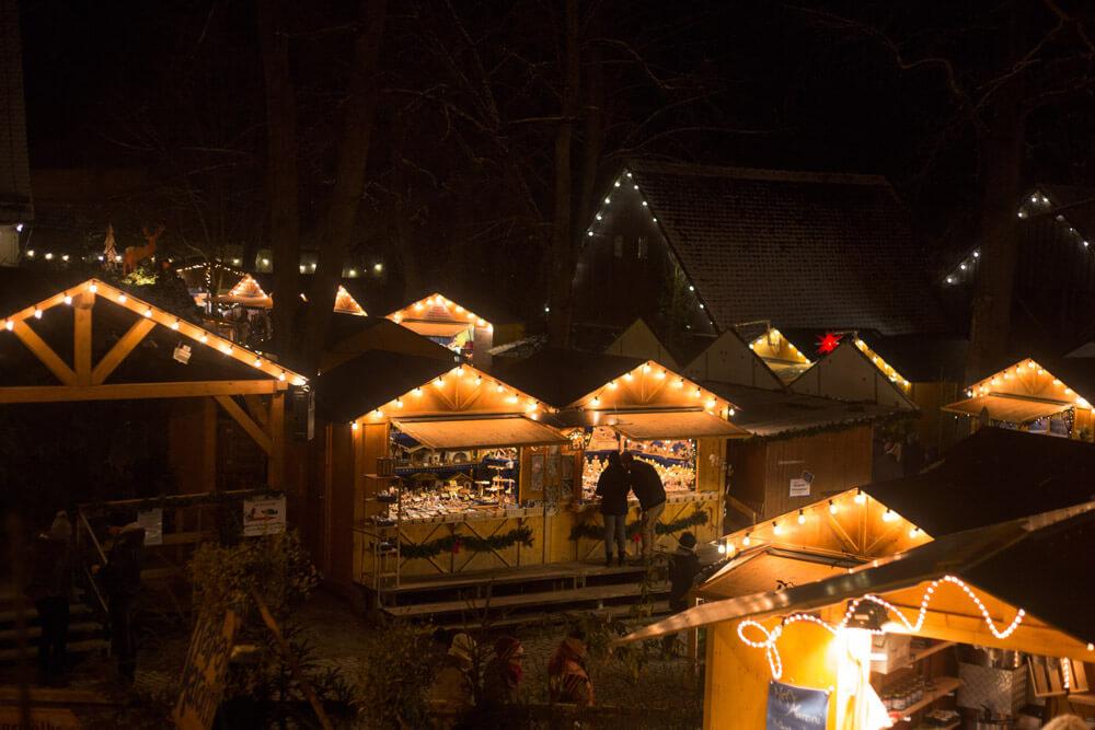 Dinkelsbühler Weihnachtsmarkt - Budenzauber