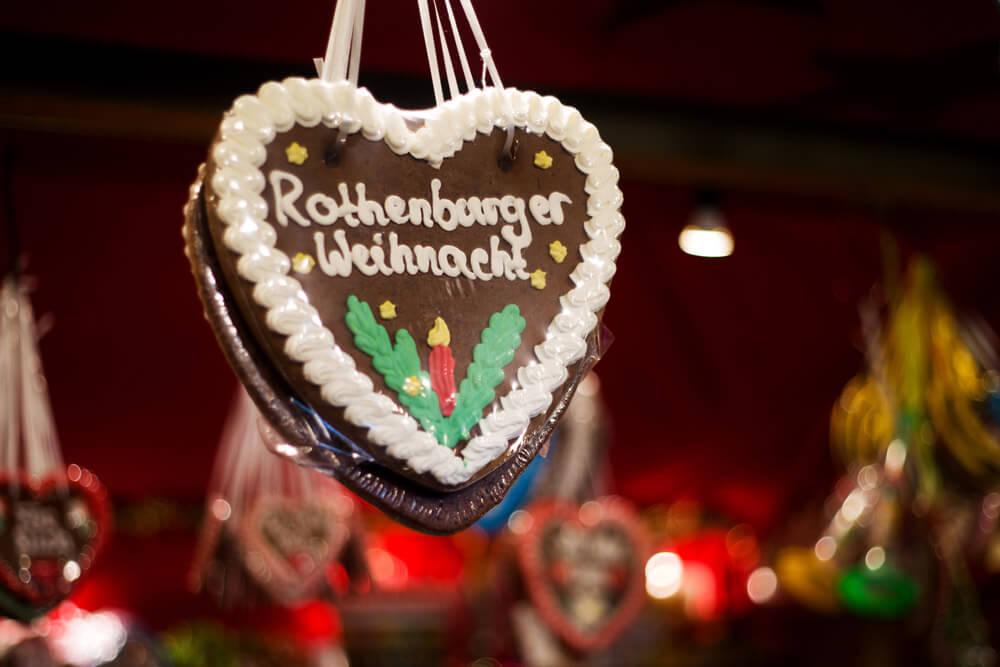 Rothenburg Lebkuchenherz