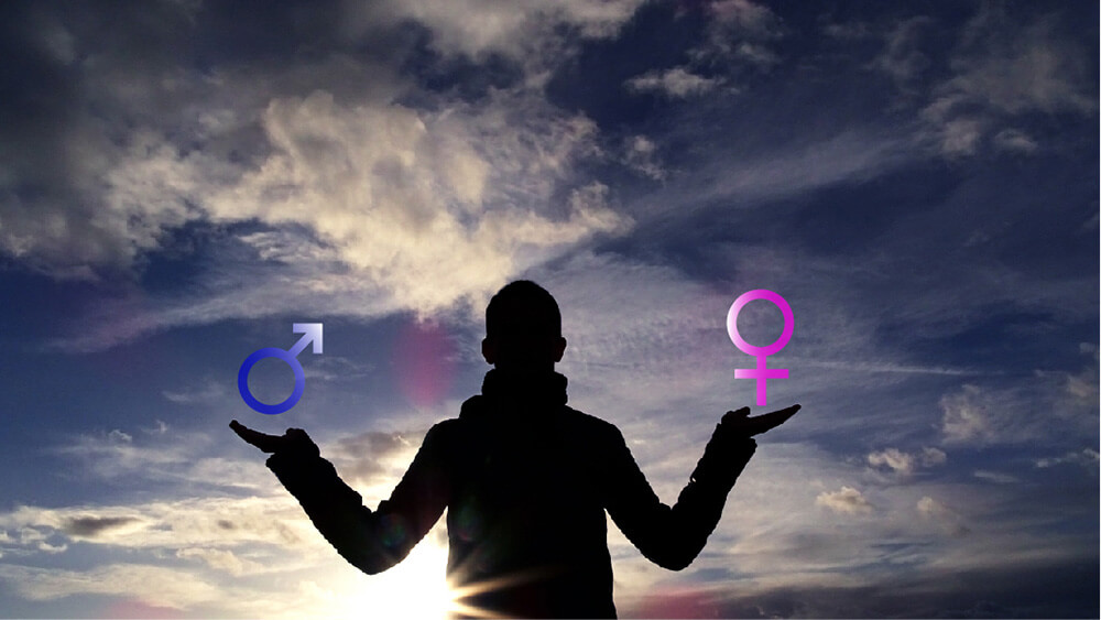 Transident Symbolbild