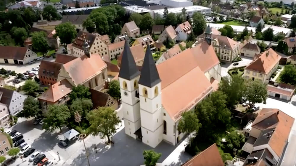 Altmühlstadt Herrieden: Industrieparadies mit historischem Charme