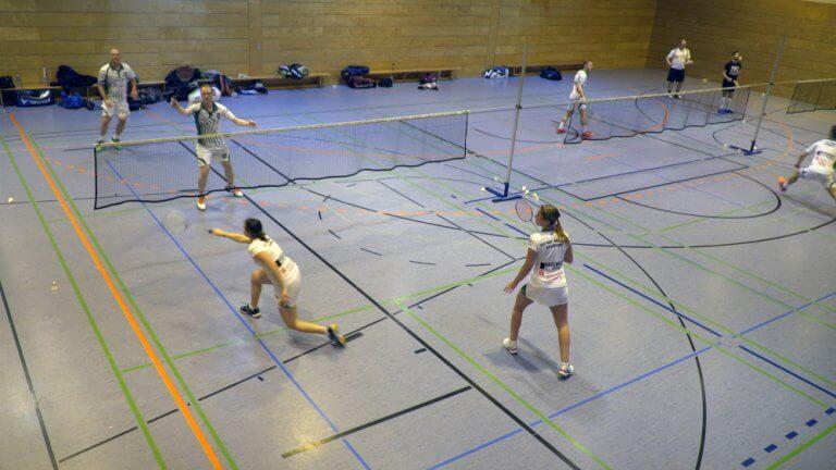 Badminton Training beim TSV 1860 Ansbach