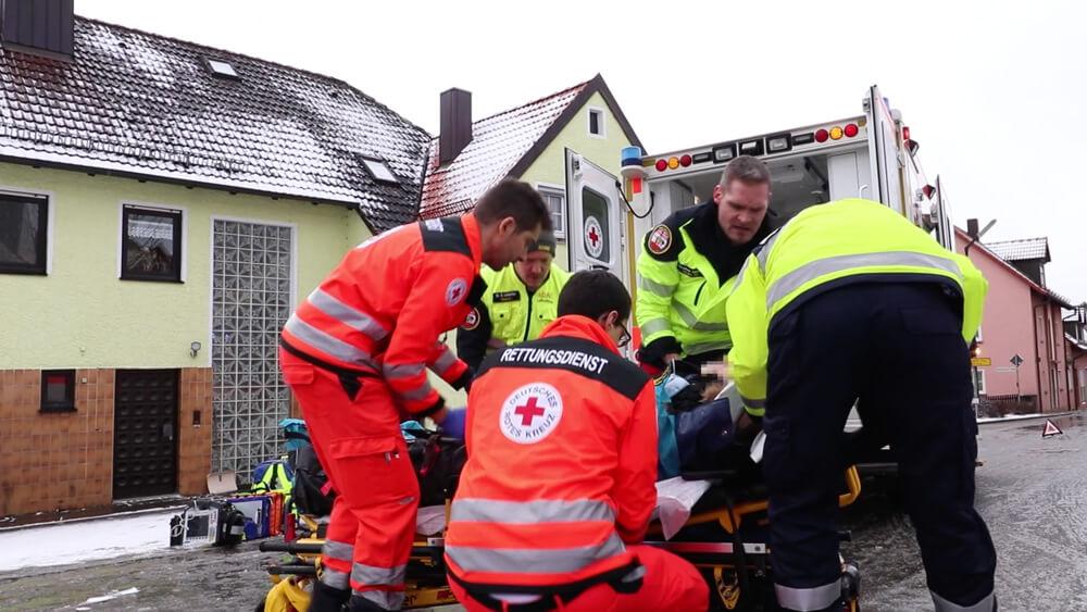 Mit Blaulicht durch Franken: Rettungsdienst Ansbach