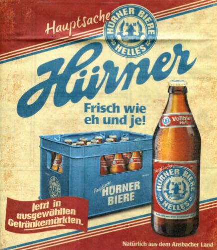Hürnerbräu Tucher Plakat