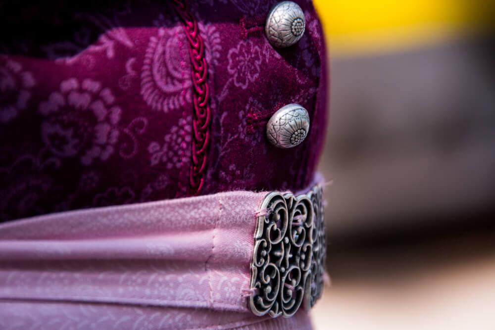 Ein Fränkisches Dirndl im Detail