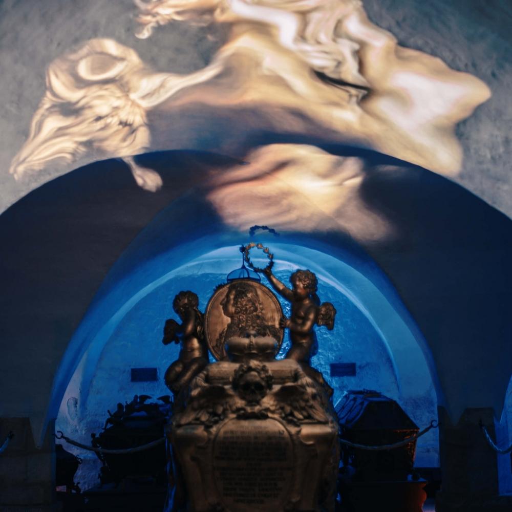 """Installation """"Weißes Rauschen"""". Foto: David Ferstl"""