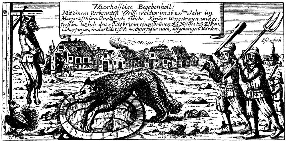 Die Ansbacher Wolfshenker - Mehr als nur ein Gruselmärchen