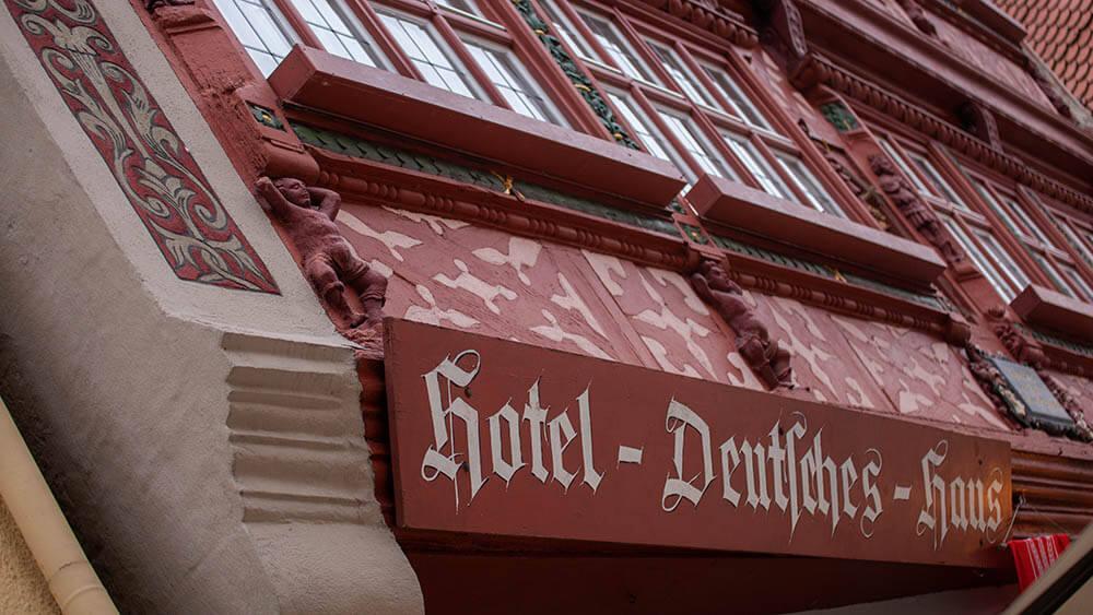Häuserschätze in Franken