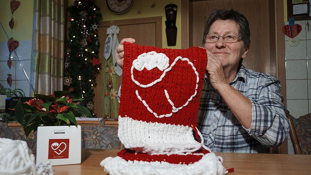 Made in Franggn: Oma Hedwig im Strickfieber
