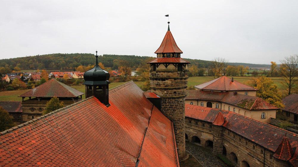 Die schönsten Burgen und Schlösser in Mittelfranken