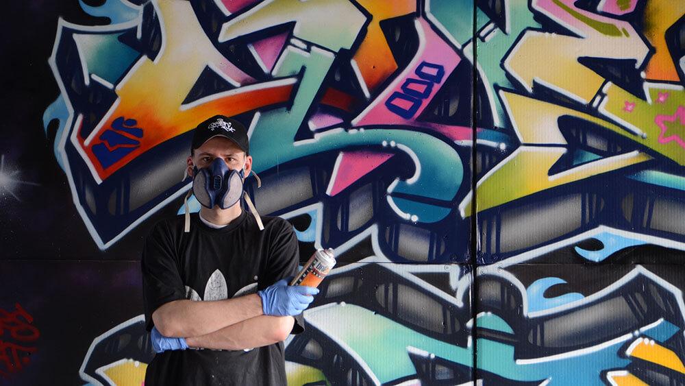 Graffiti-Kunst in Ansbach