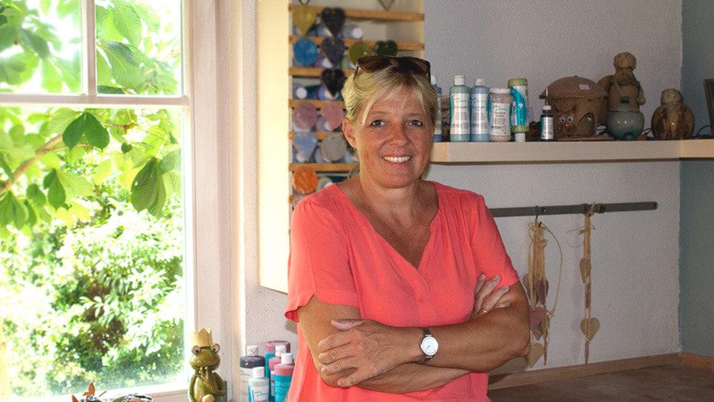 Portrait con Christine Krach