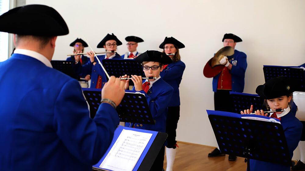 Musiker der Spielmannszüge