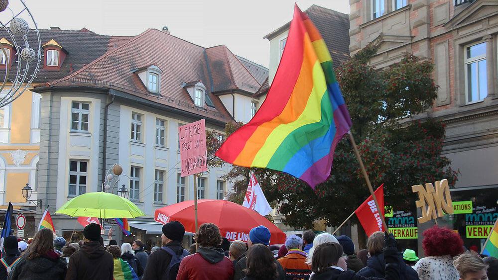 Der CSD in Ansbach