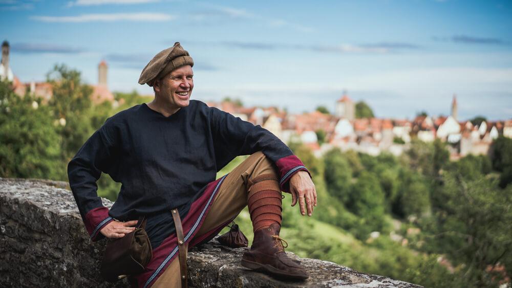 Der Stadtbote aus Rothenburg ob der Tauber