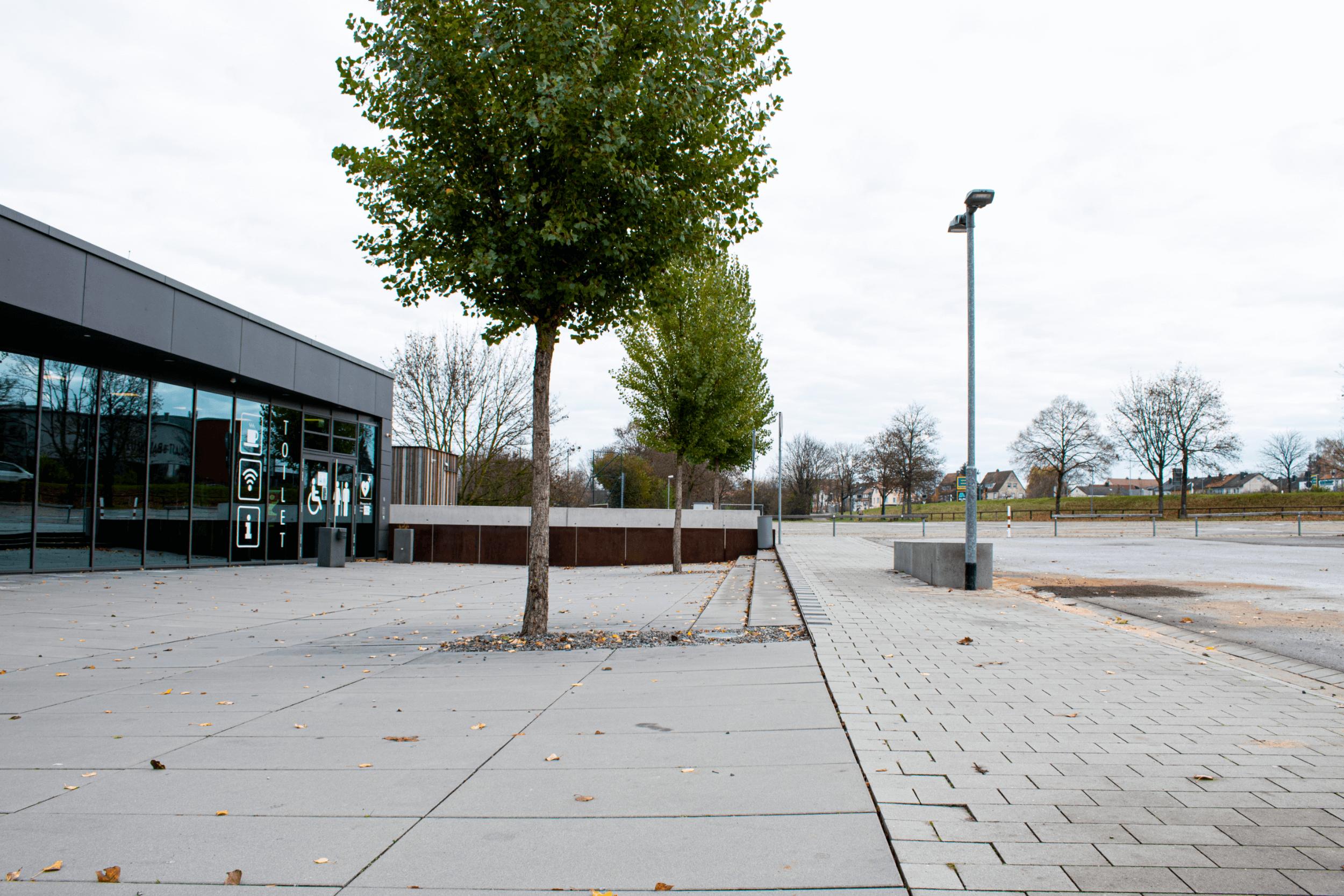 Die Mehrzweckhalle in Rothenburg basiert grundsätzlich auf einer barrierefreien Bauweise.