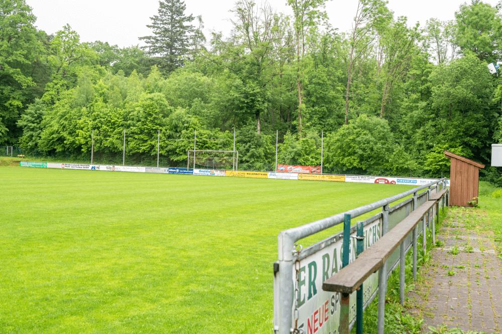 Die Sportfreunde Dinkelsbühl tragen ihre Heimspiele in der Sportanlage am Mutschachwald aus