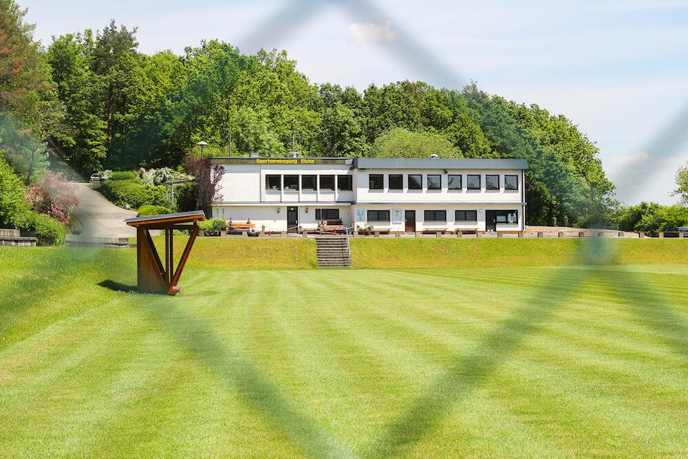 Die Sportanlage Eicha ist ein echter Geheimtipp für alle Fußballromantiker im Raum Coburg