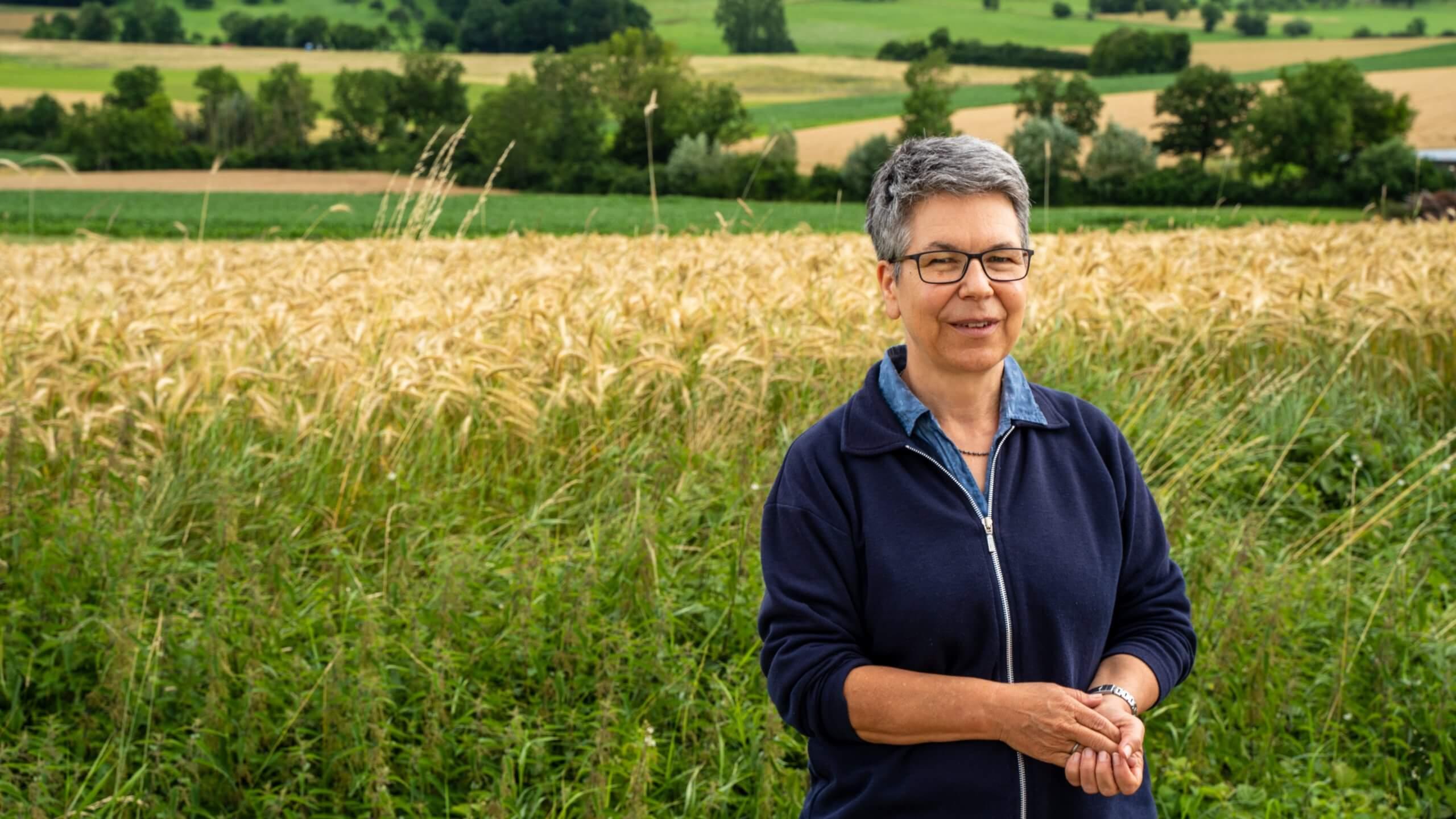 Brigitte Geiß, Ansprechpartnerin für Wildlebensraumberatung des AELF