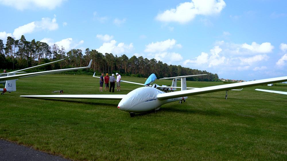 Ein Siegelflieger des Aeroclub Ansbach.
